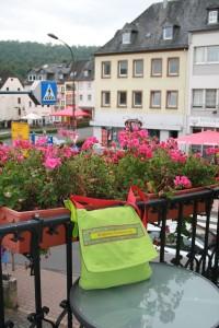 Blick vom Hotel-Balkon