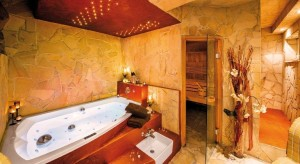 Blick in die Private Spa Suite