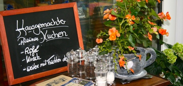 Selbstgebackener Kuchen im Landidyll Hotel Brauneberger Hof