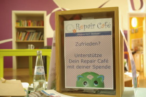 Spenden fürs Repair Cafe