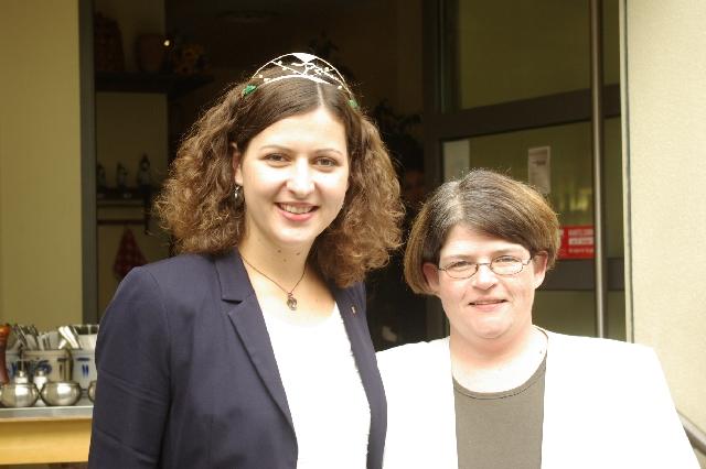 Im Gespräch mit der Mosel-Weinkönigin, Kathrin Schnitzius