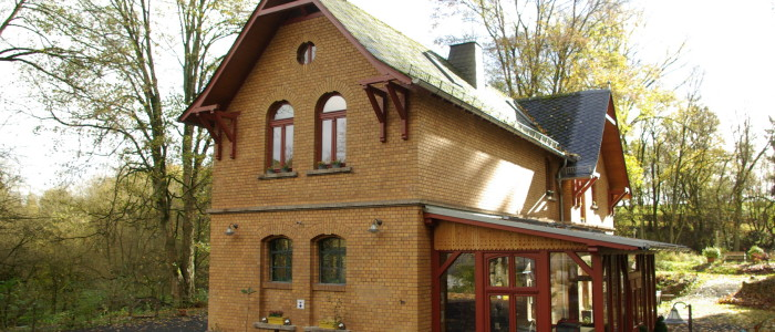 Kutscherhaus am Weiher im Westerwald