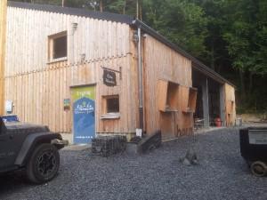 Informationszentrum nach dem Umbau