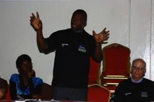 Olang Sana, Gründer von Citizens Against Violence (CAVi)