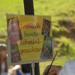 Familientag-Schminken im Wild und Wanderpark Silz