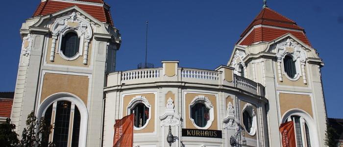 Das Kurhaus in Bad Neuenahr. Bildquelle: Reinhardhauke/wikimedia.org