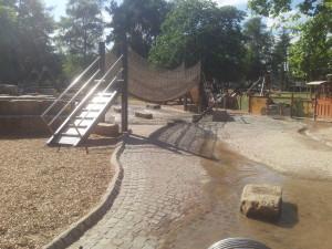 Wasserspielplatz in  Rosport
